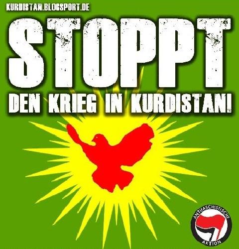 Solidarität mit Kurden im Hungerstreik