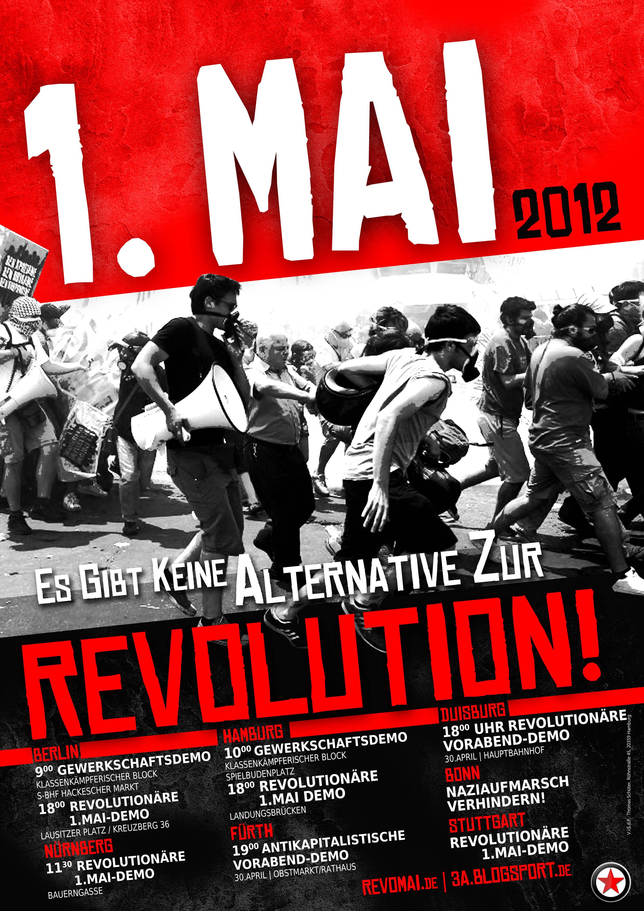 1. Mai Bundesweit